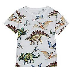 bluezoo - Boys' multi-coloured dino print t-shirt