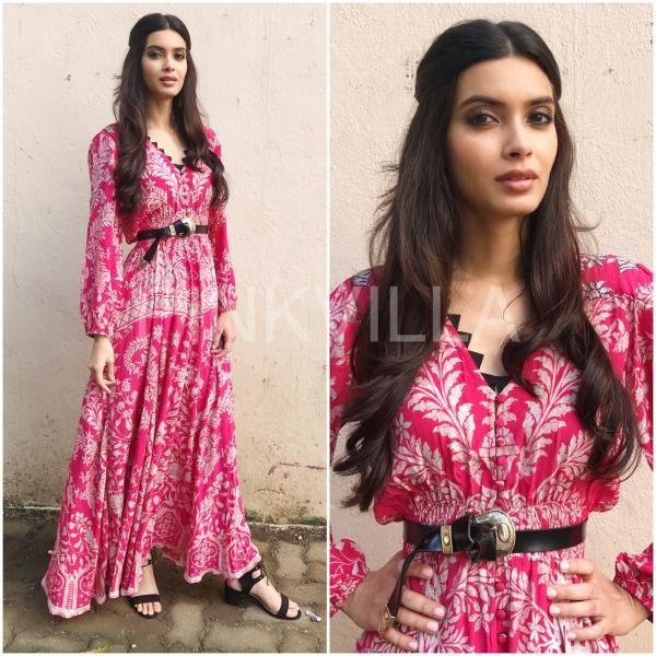 Style File : Diana Penty promotes Lucknow Central | PINKVILLA