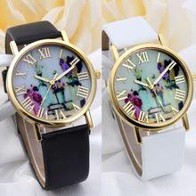Jarrones Xiniuy 2017 Mujeres de Las Señoras de Cuarzo Reloj de Mujer Reloj de Ginebra Reloj de Las Mujeres Relojes Relogio Feminino 2017 mujeres Reloj(China (Mainland))