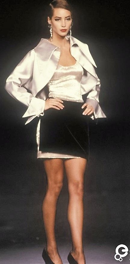 Christy Turlington - Lanvin, Autumn-Winter 1990, Couture
