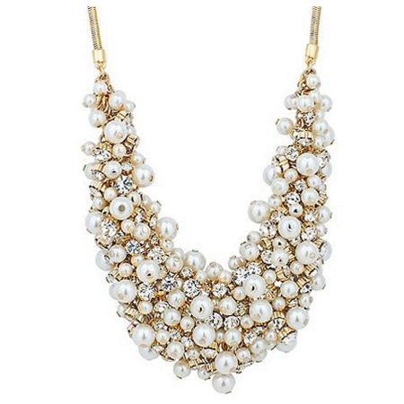 Chunky Pearl Necklaces | sheerluxe.com                                                                                                                                                                                 More