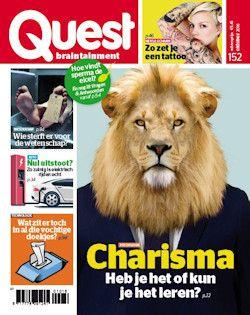 12x Quest € 45,-: Quest, het blad dat boeit, verrast en intrigeert…