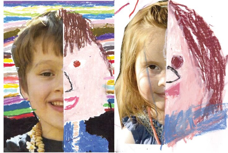 """It's great for children to create a portrait of themselves or another family member, both from a self esteem and belonging perspective as well as an artistic one. It helps develop fine motor skills, an understanding of symmetry, color and shape."" - Pure Wander Magazine"