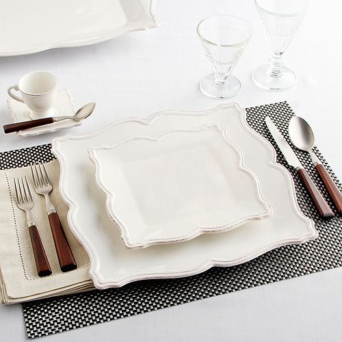 Sur La Table Antique White Collection Love these ! What do you think? Good idea for Spain??