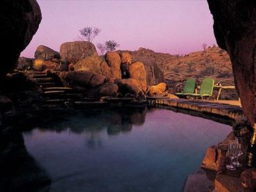 Mowani, Mountain Camp, Namibia http://www.capetours.co.uk/destinations/namibia/190-accommodation/damarland/97-mowani-mountain-camp#