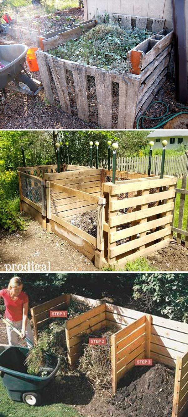 Compost Guide And Tips For Beginners And 15 Diy Composting Bin Ideas Compost Bin Diy Diy Compost Wooden Compost Bin Diy backyard compost bin