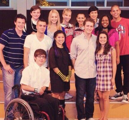 The original , my favorite Glee cast | Gleek♥ | Pinterest ...