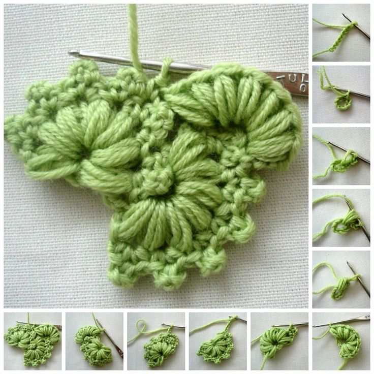 ergahandmade: Crochet Stitch + Free Pattern Step By Step