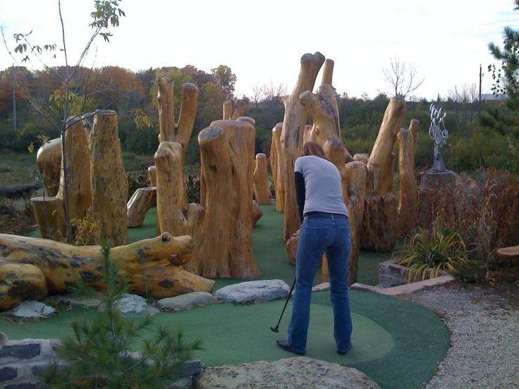 Epic Size Obstacles Big Stone Mini Golf Miniature Golf