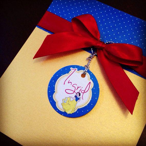 Snow White Birthday Party Invitation by BirthdayPartyBox on Etsy, $3.49