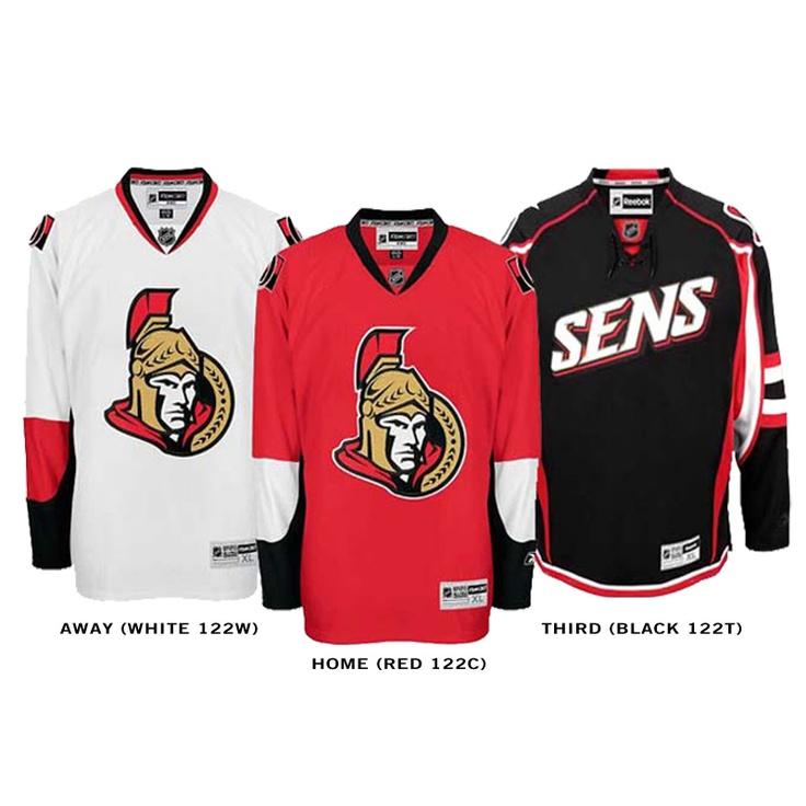 Ottawa Senators Jersey's, Go senators!