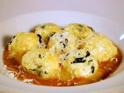 Spinach and Ricotta Gnudi Recipe : Scott Conant : Food Network