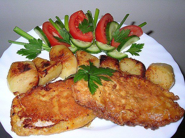 Goose with apples recipe