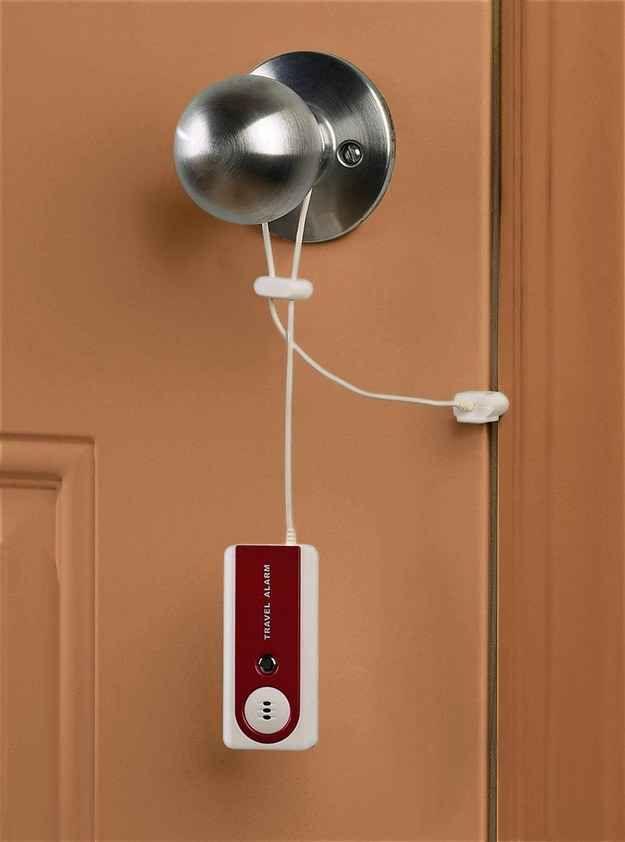 This travel door alarm ($12)