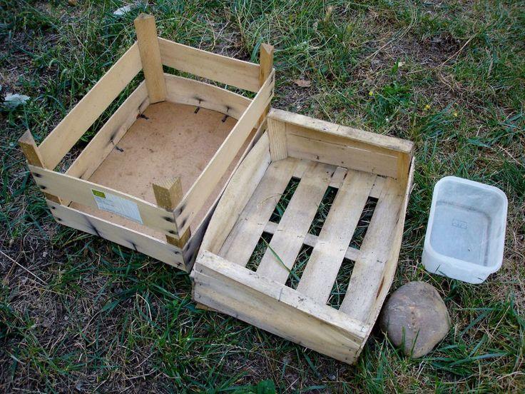 Que du matériel de récupération pour fabriquer mon composteur!