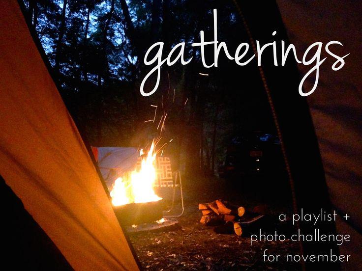 A cozy #November #playlist on Spotify. #campfire