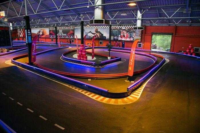 Circuito de karts cubierto Carlos Sainz Center en Madrid