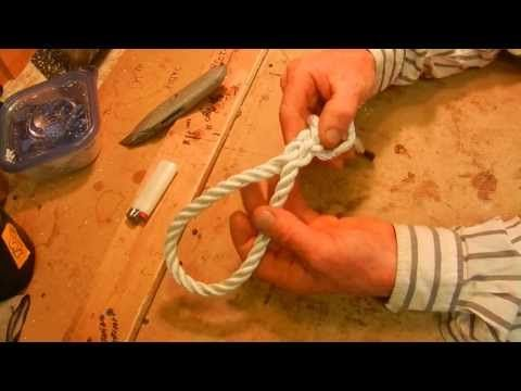 3 strand rope splicing instructions