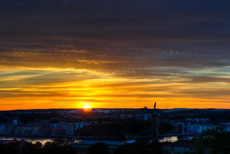 Sunset in Gothenburg... by Ioannis Kaminaras on 500px