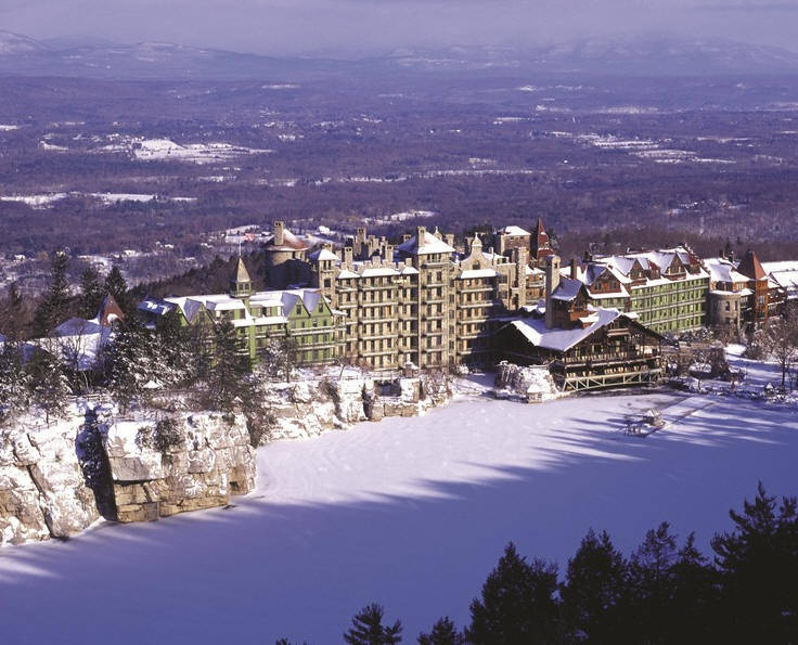 This is one of the places Mike & I went on our honeymoon.  Mohonk Mountain House, NY