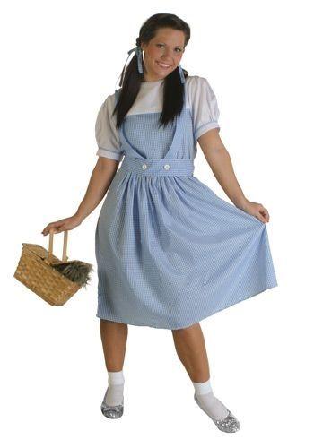 Plus Size Dorothy Costume - Adult Dorothy Halloween Costumes