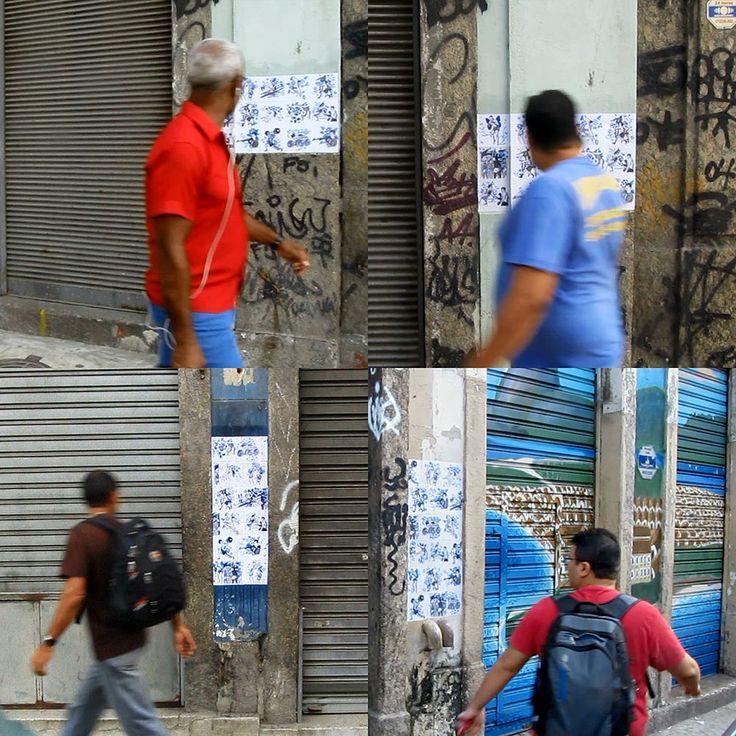 OCUPAÇÃO OLYMPIA - Gamboa | rua Camerino | lambe-lambe (tinta acrílica s/ papel com impressão laser cola s/ parede) | resultado da residência Pensão Artística | mais informações em: http://ift.tt/1roId7h | #PensãoArtística #PensaoArtistica #OcupacaoOlympia #OcupaçãoOlympia #Olympia #Olimpiadas2016 #Olimpíadas2016 #OlimpiadasRio2016 #rio2016 #rio2016olympics #OlimpíadasRio2016 #Olimpiadas #Olimpíadas #IntervencaoUrbana #ArteUrbana #Azulejo #Azulejos #FiguraAvulsa #FábioCarvalho #FabioCarvalho…