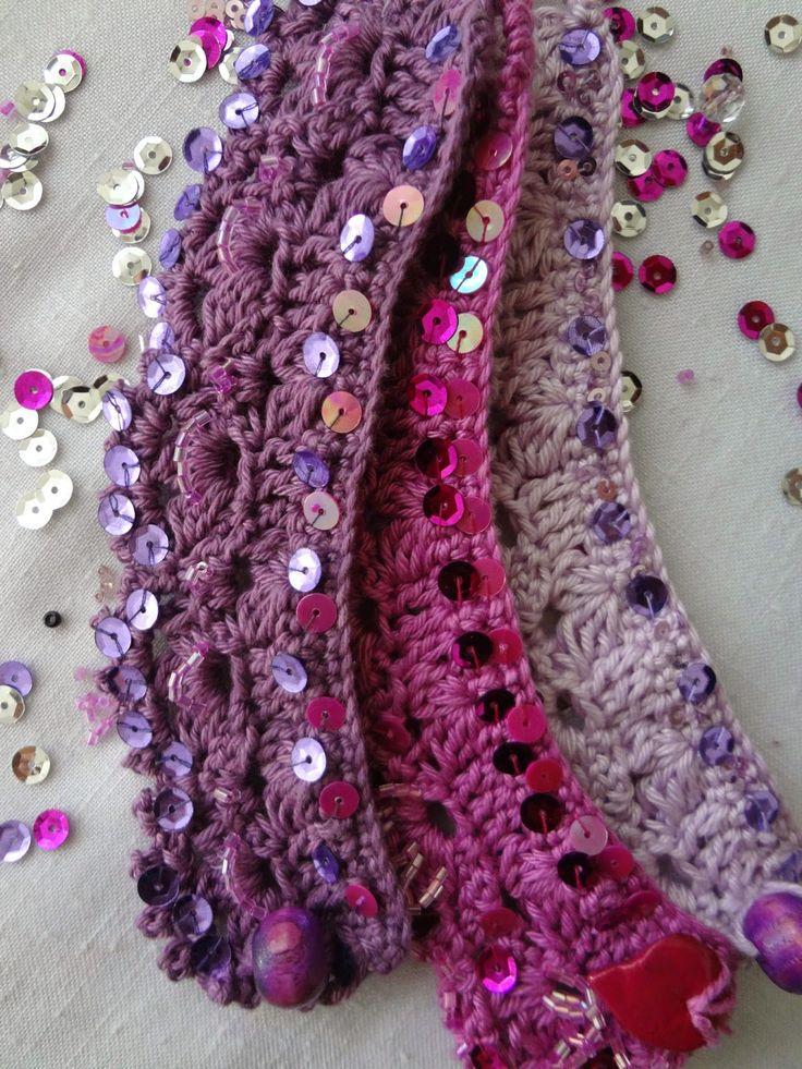 Moroccan cuffs - crochet pattern