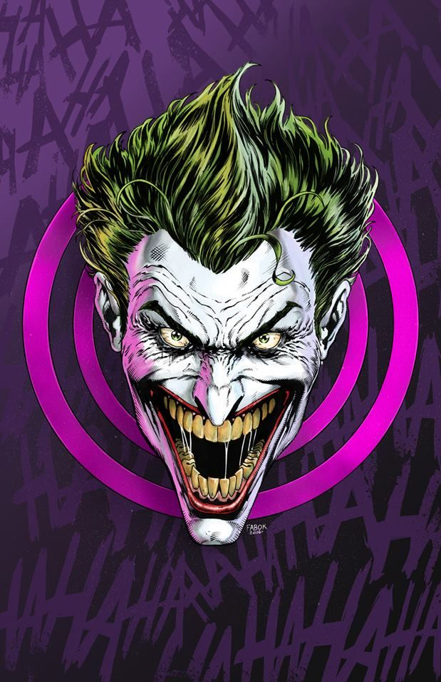 Art Vault  The Joker by Jason Fabok *