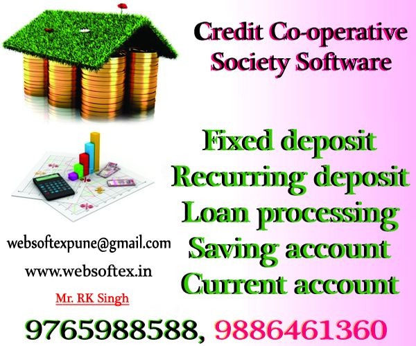 websoftex is one of the most popular and experienced Co-Operative credit society Software companies in with around 6+ years of experience in develop software.