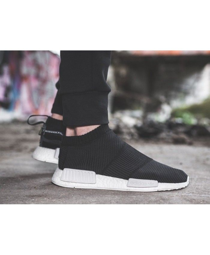 6abcb390a59d3 Cheap Adidas NMD Cs1 Gtx Primeknit Core Black White Black Shoe ...