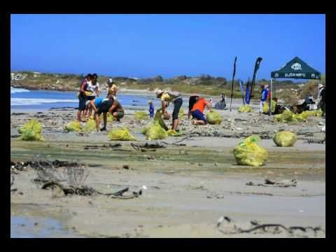 Ocean Minded Beach Clean Up Witsands beach.flv