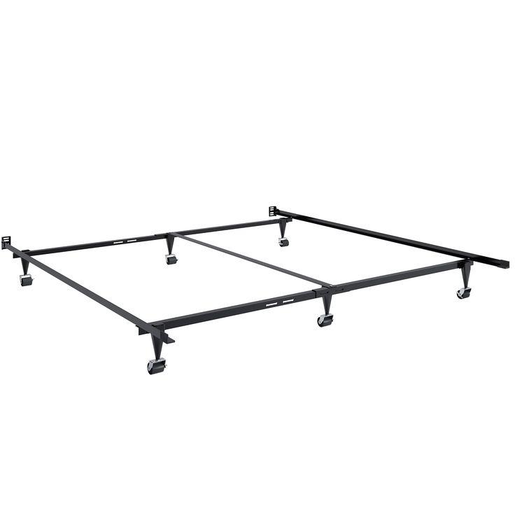 CorLiving Adjustable Queen or King Metal Bed Frame