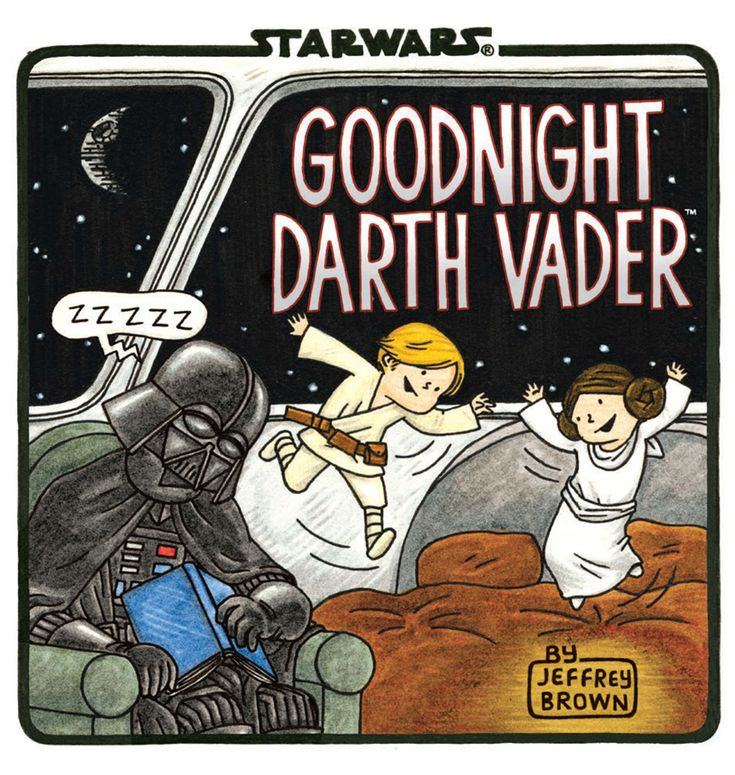 'Goodnight Darth Vader': Bedtime stories for Jedi-to-be via @CNET
