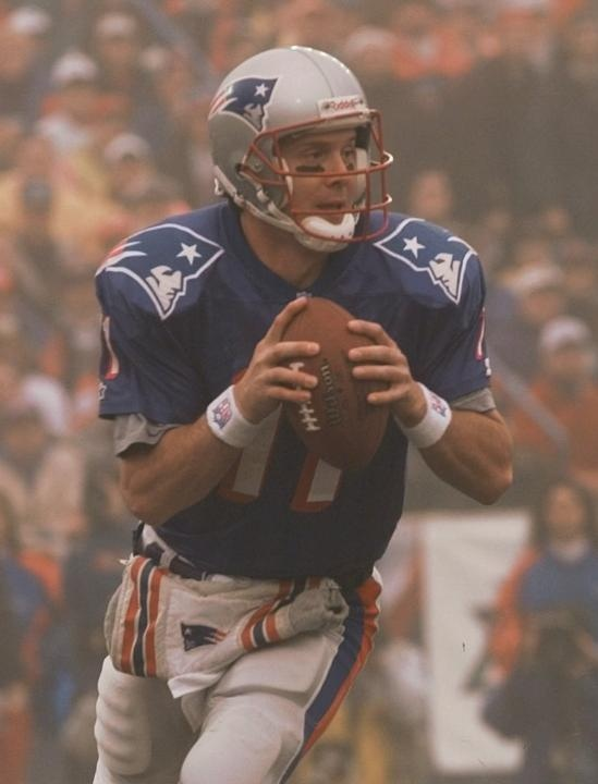 Top Patriots Playoff Plays  Drew Bledsoe's bomb to Terry Glenn in the Fog Bowl 1996