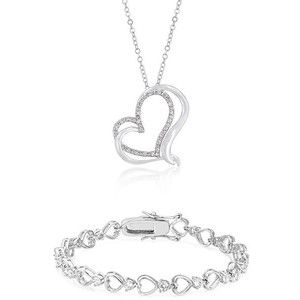 Conjunto Corazón Infinito - Valentina Salerno - Joyería  #colgante #corazón #joyas #joyería #sanvalentín #diadelosenamorados #conjunto  #valentinasalerno #pulsera #corazones #jewels #jewelry #bracelet #pendant  #heart #hearts #valentinesday #love #inlove #jewelry set