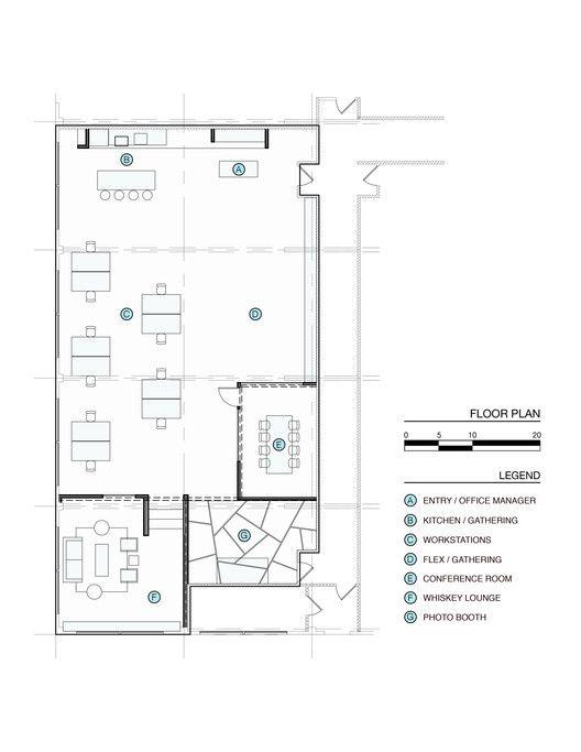 Gallery Of BeFunky Portland Office / FIELDWORK Design U0026 Architecture   10.  Office Floor PlanWork ...
