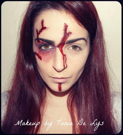 Chucky doll makeup