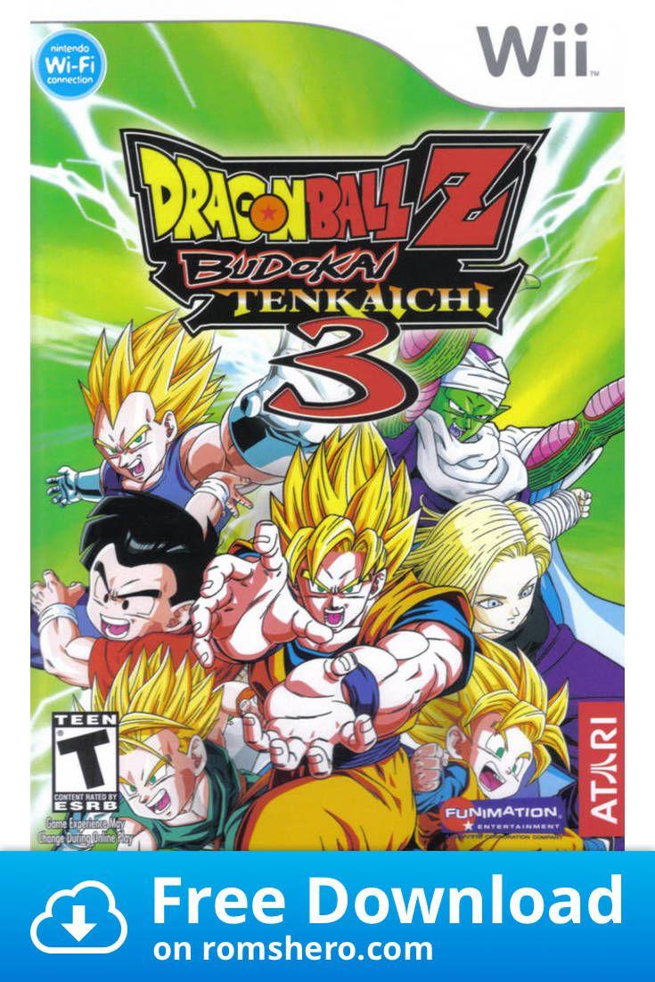 Download Dragon Ball Z Budokai Tenkaichi 3 Nintendo Wii
