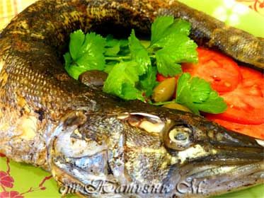 Russian Easy Baked Pike recipe