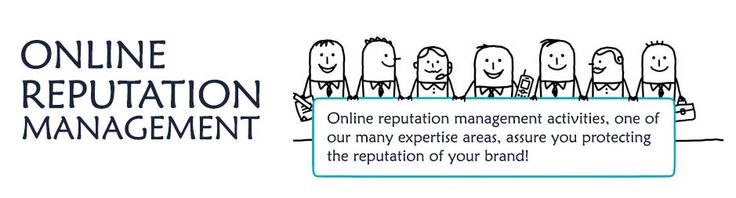 most of the people consider about your online #reputation