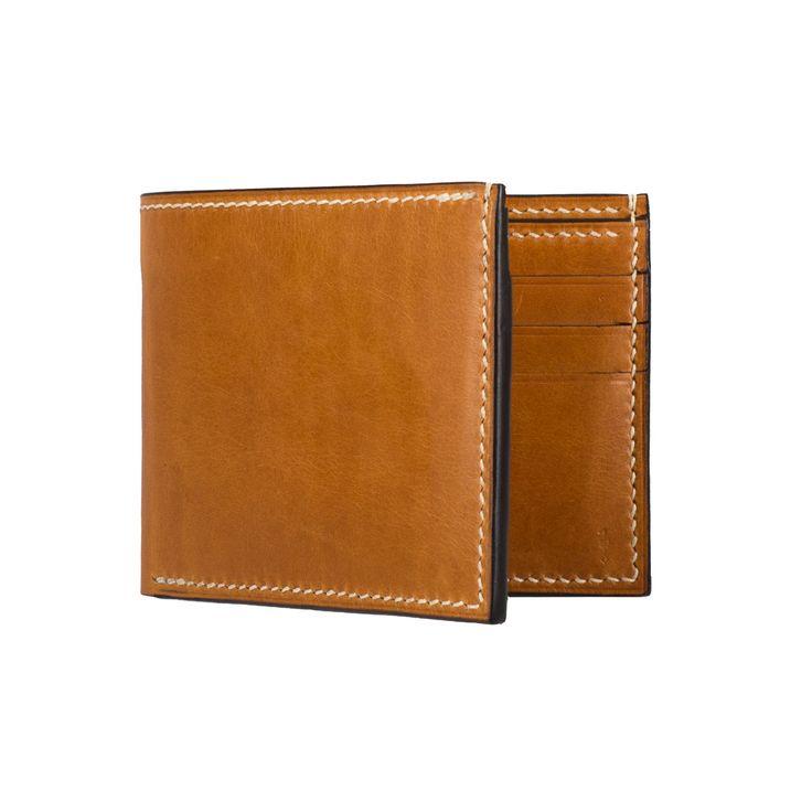 'Borr' Bifold Wallet - Cognac