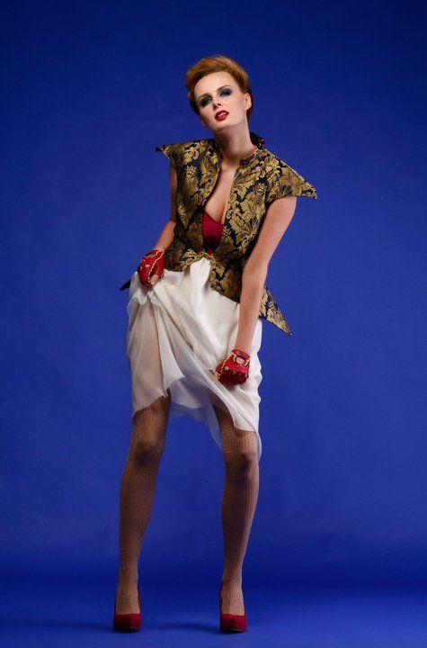 kamizelka i sukienka Gabriela Hezner