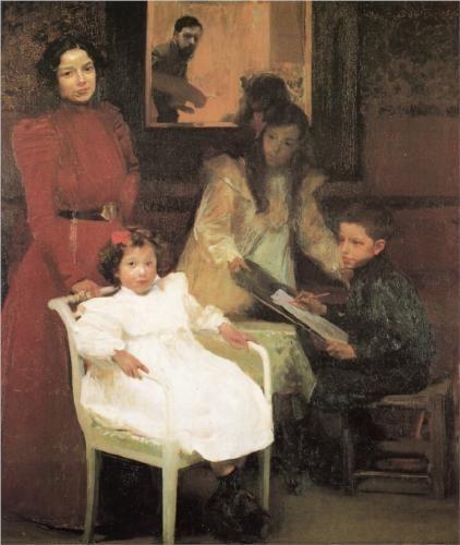 My Family - Joaquín Sorolla