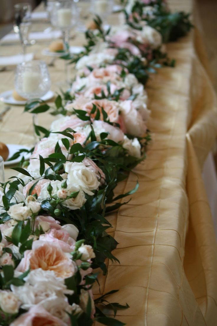 62 Best Images About Table Garland On Pinterest Runners