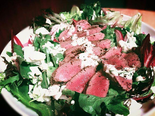 Moroccan Lamb & Feta Salad: Low Carb, Gluten-Free
