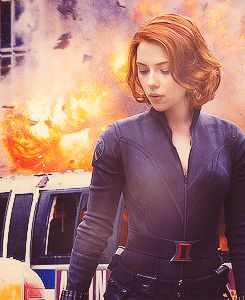 I won't lie, I'd totally go gay for Scarlett Johansson's Black Widow.