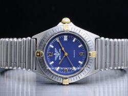 Breitling - Callisto Rouleaux 80510 Cassa: acciaio - 34,5 mm Ghiera: acciaio Vetro: zaffiro Colore quadrante: blu Bracciale: acciaio Chiusura: invisibile Movimento: quarzo