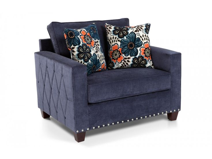 Melanie Chair & 1/2. Living Room FurnitureLiving Room IdeasDiscount ... - 9 Best Images About Couches On Pinterest Upholstery, Nail Head