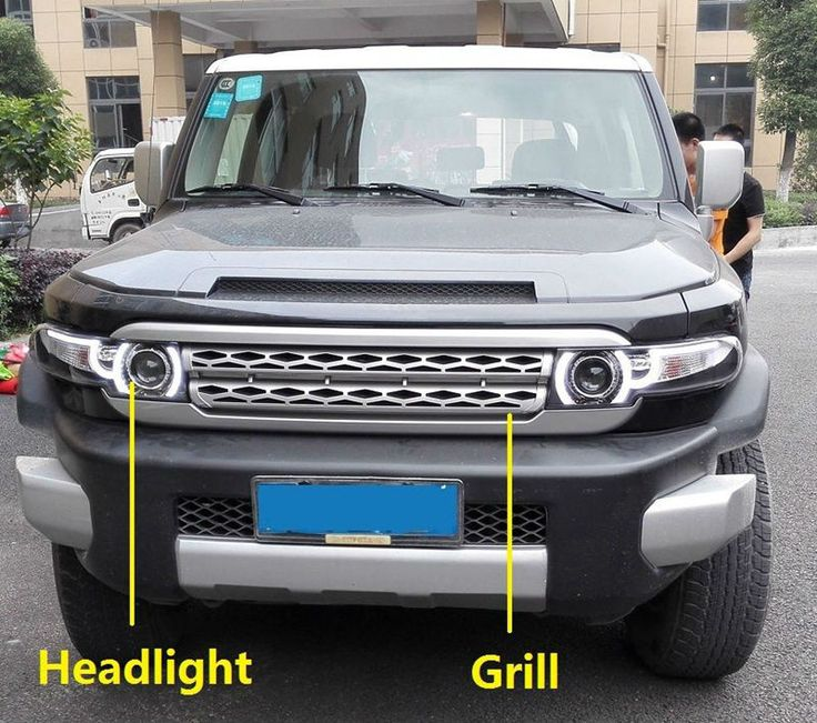 Factory Supported Car Styling 2007 2015 Toyota FJ Cruiser Headlight Projector lens Light with grills and Tail lamp-in External Lights from Automobiles & Motorcycles on Aliexpress.com | Alibaba Group