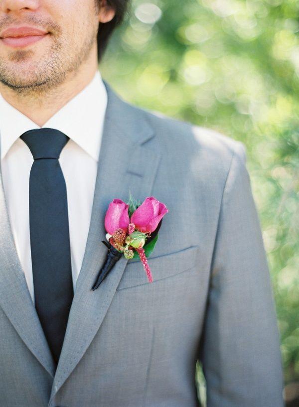Terno cinza para o noivo. #noivos